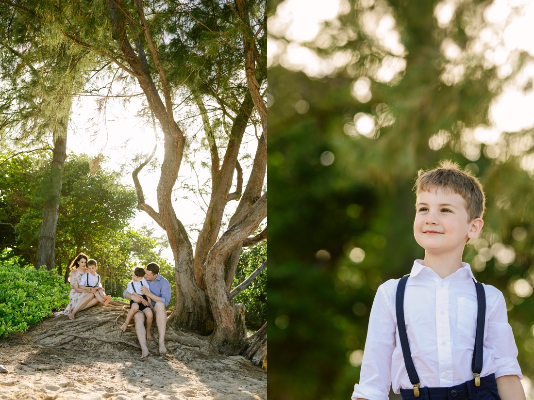 family portraits in hawaii by an Oahu Family Photographer