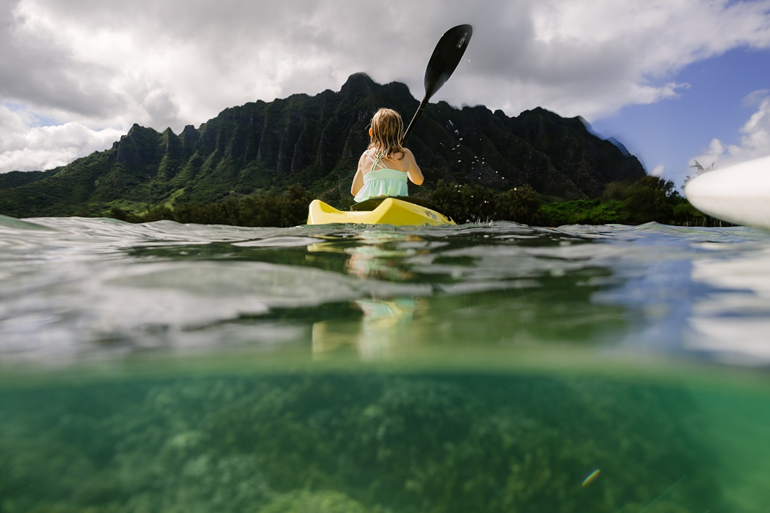 kayaking in kaneohe bay things to Do in Oahu with Kids