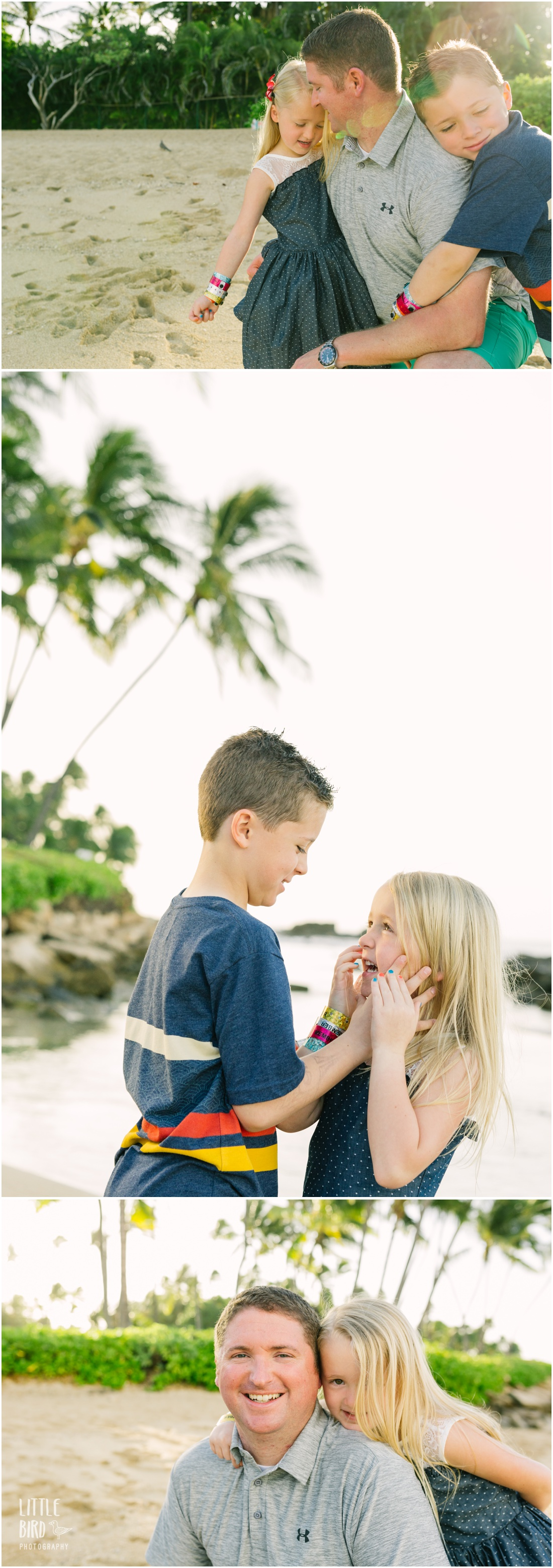 family portraits at paradise cove oahu