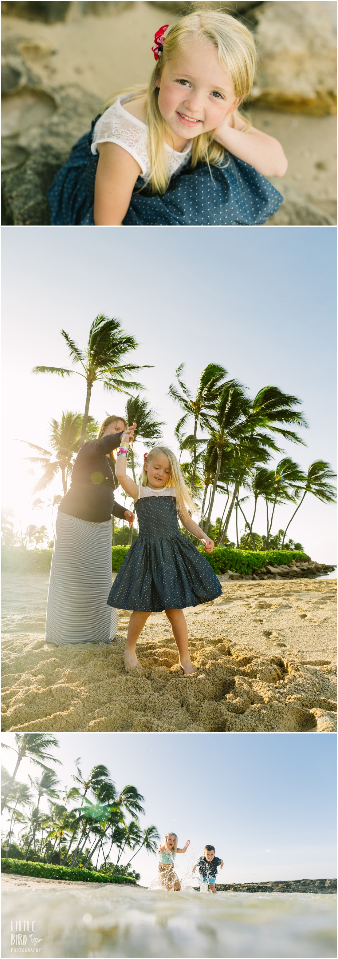 hawaii family portraits at koolina lagoon